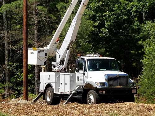 S3 Power Bucket Truck